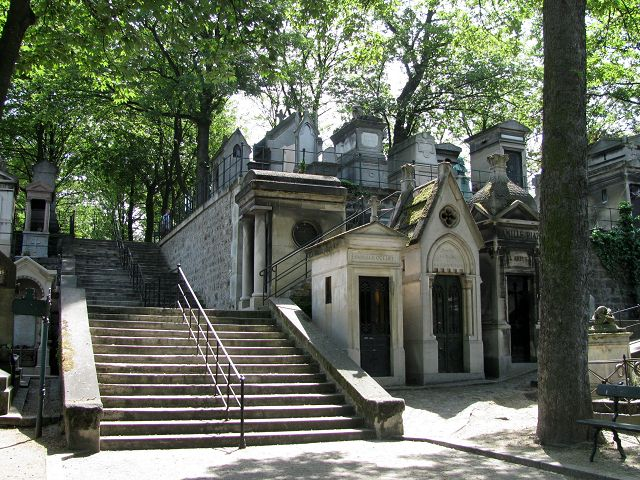 Der Friedhof Montmartre in Paris.